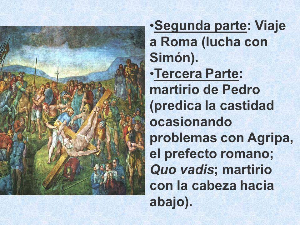 Segunda parte: Viaje a Roma (lucha con Simón).