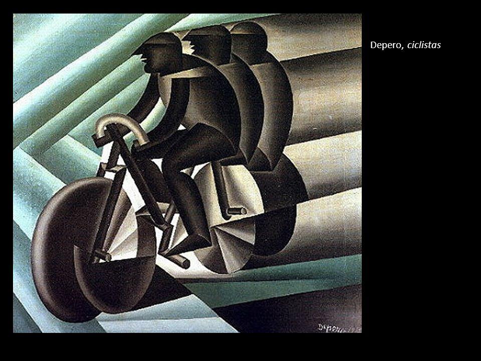 Depero, ciclistas