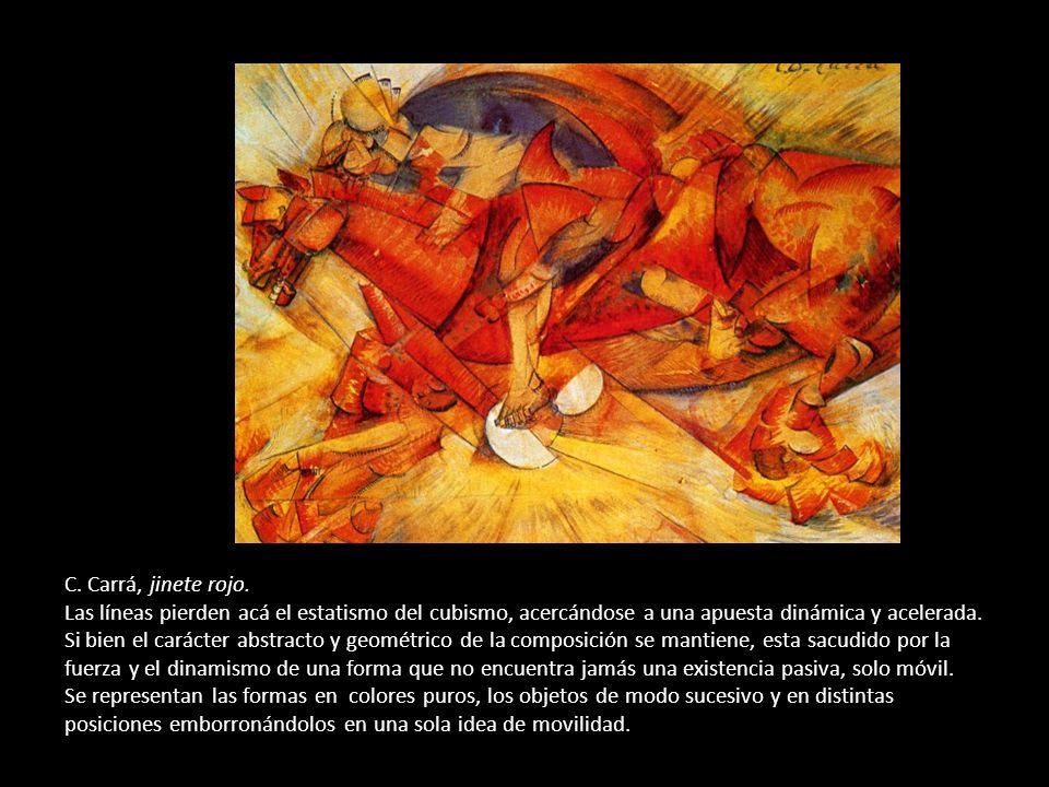 C. Carrá, jinete rojo.