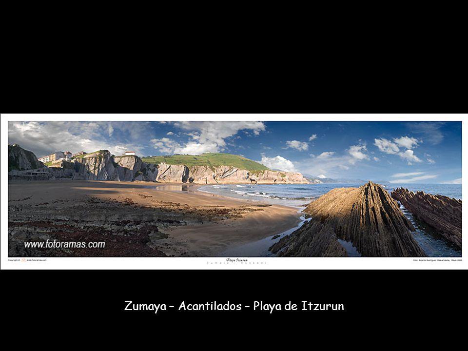 Zumaya – Acantilados – Playa de Itzurun