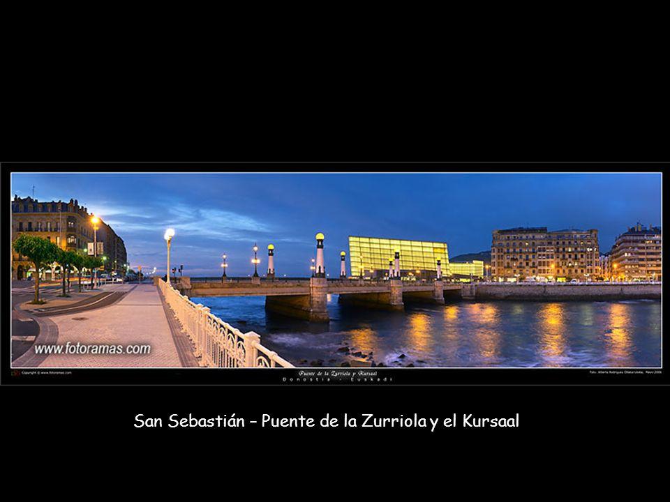 San Sebastián – Puente de la Zurriola y el Kursaal