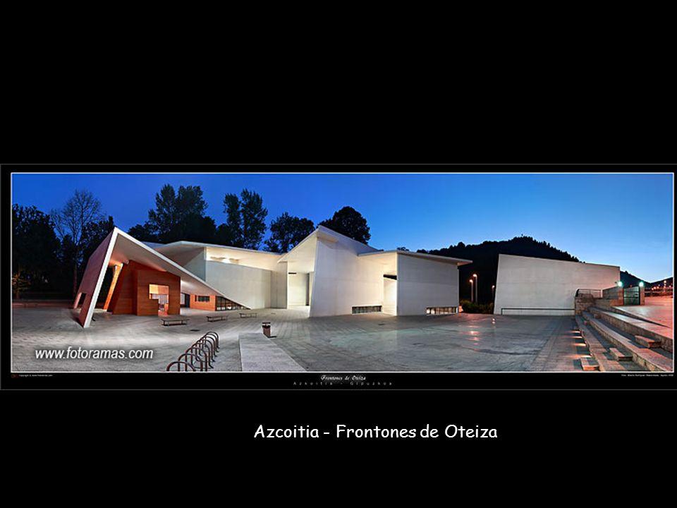 Azcoitia - Frontones de Oteiza