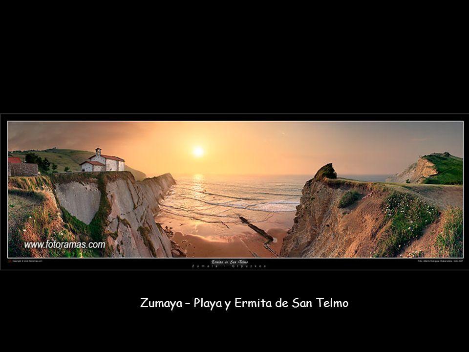 Zumaya – Playa y Ermita de San Telmo