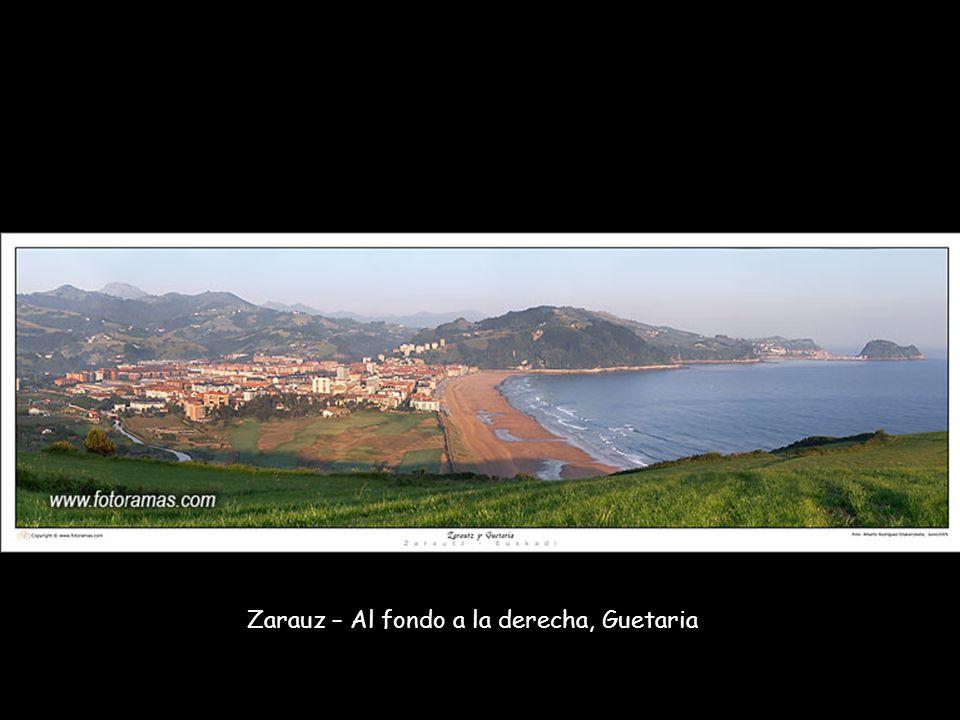 Zarauz – Al fondo a la derecha, Guetaria