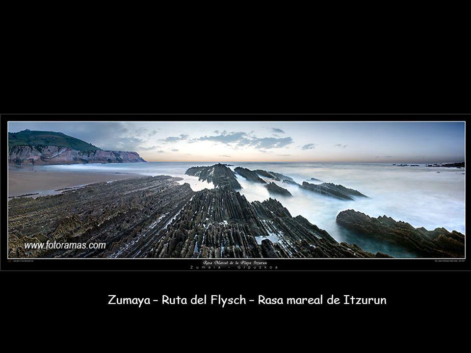Zumaya – Ruta del Flysch – Rasa mareal de Itzurun