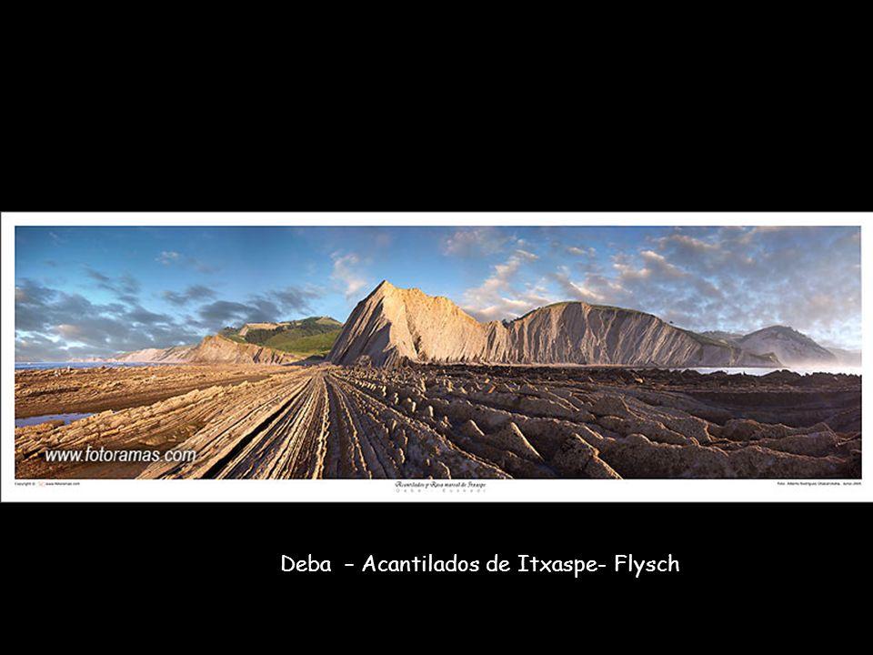 Deba – Acantilados de Itxaspe- Flysch