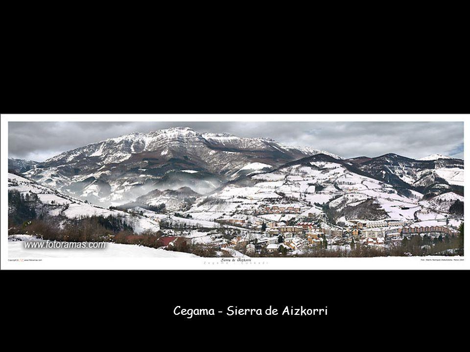 Cegama - Sierra de Aizkorri