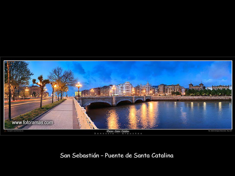 San Sebastián – Puente de Santa Catalina