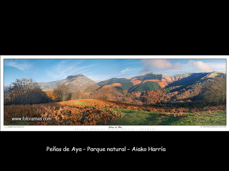 Peñas de Aya – Parque natural – Aiako Harría