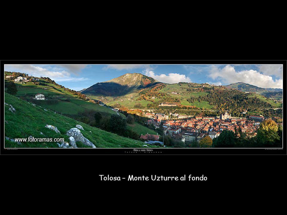 Tolosa – Monte Uzturre al fondo
