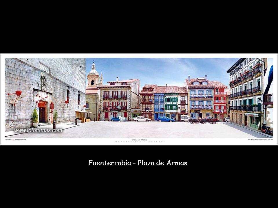 Fuenterrabía – Plaza de Armas