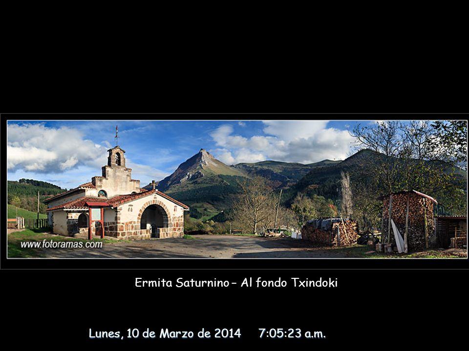 Ermita Saturnino – Al fondo Txindoki