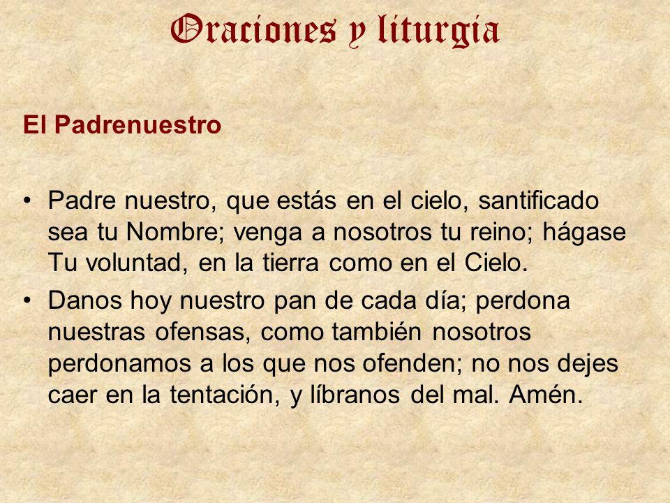 Oraciones y liturgia El Padrenuestro