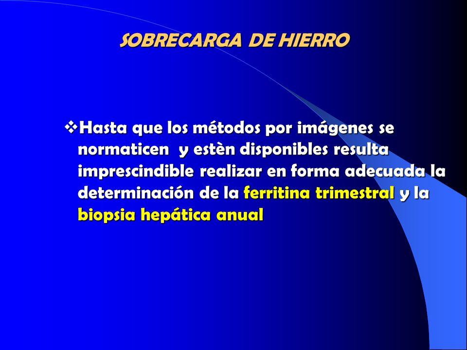 SOBRECARGA DE HIERRO