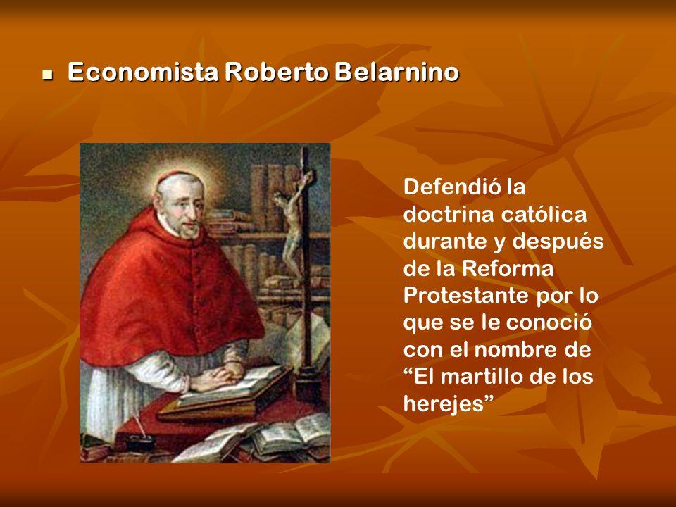Economista Roberto Belarnino