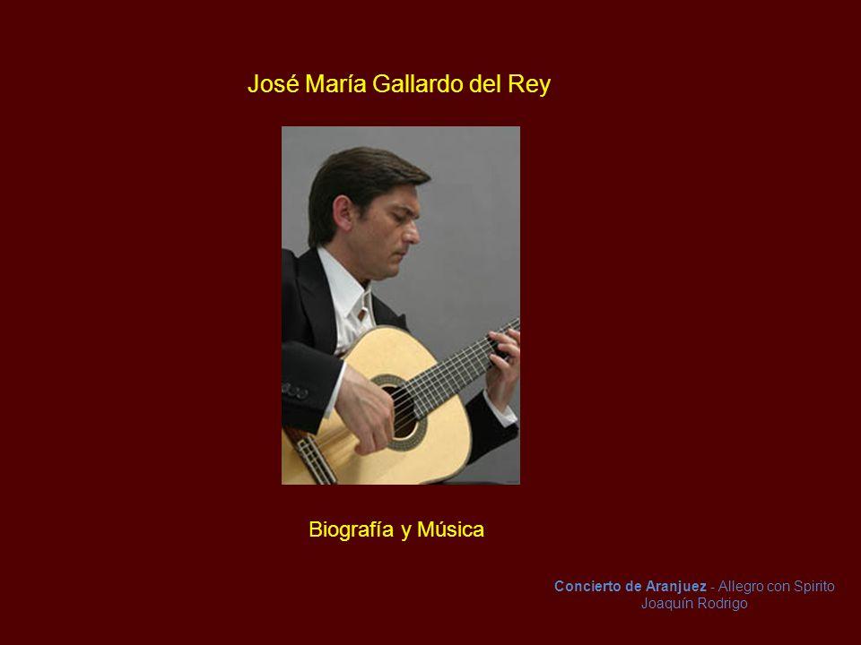 José María Gallardo del Rey
