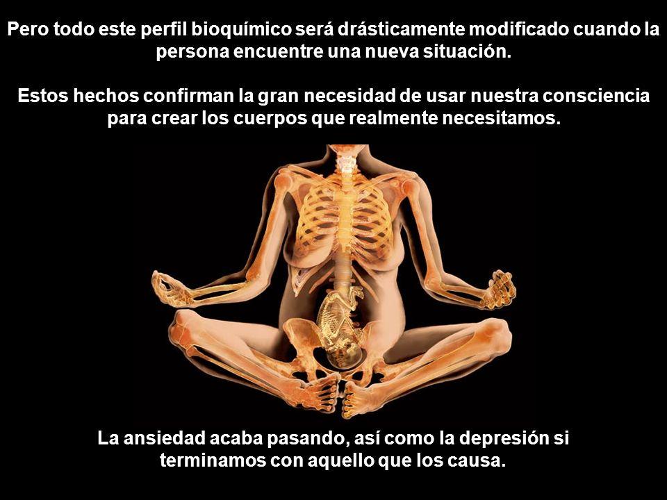 Pero todo este perfil bioquímico será drásticamente modificado cuando la persona encuentre una nueva situación.