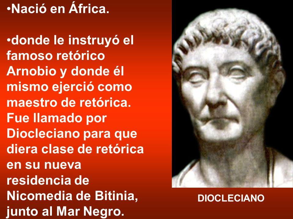 Nació en África.