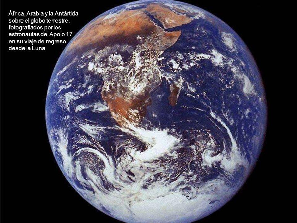 África, Arabia y la Antártida