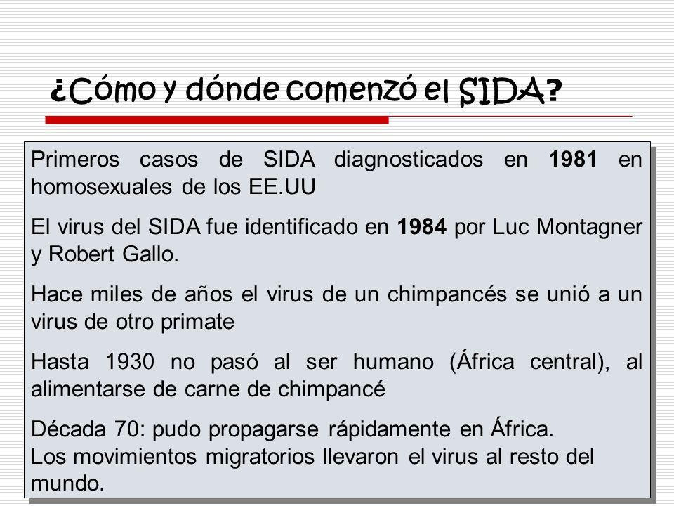 ¿Cómo y dónde comenzó el SIDA