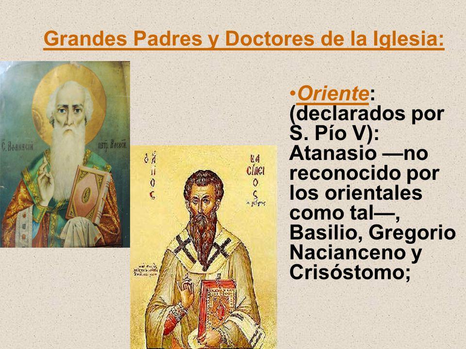 Grandes Padres y Doctores de la Iglesia: