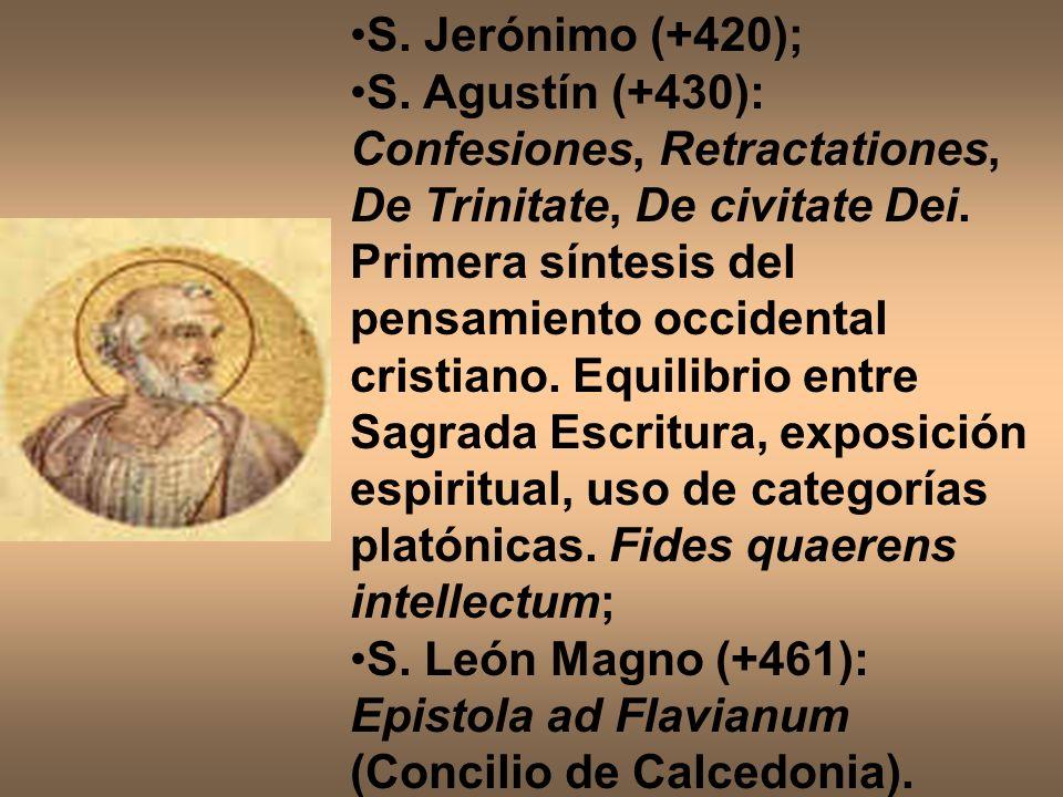 S. Jerónimo (+420);