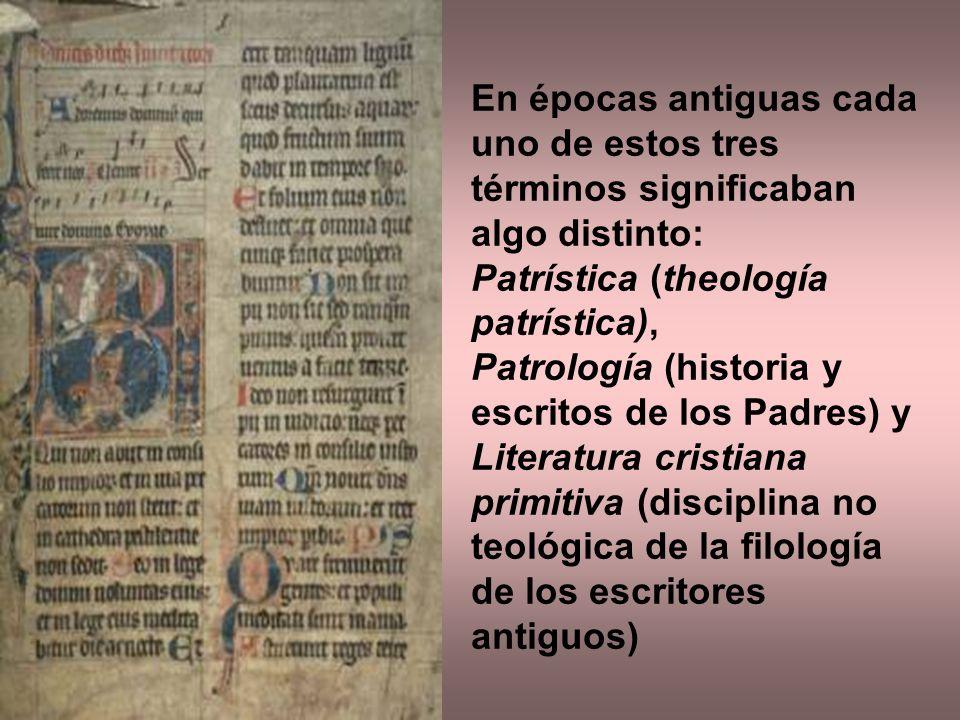 En épocas antiguas cada uno de estos tres términos significaban algo distinto: