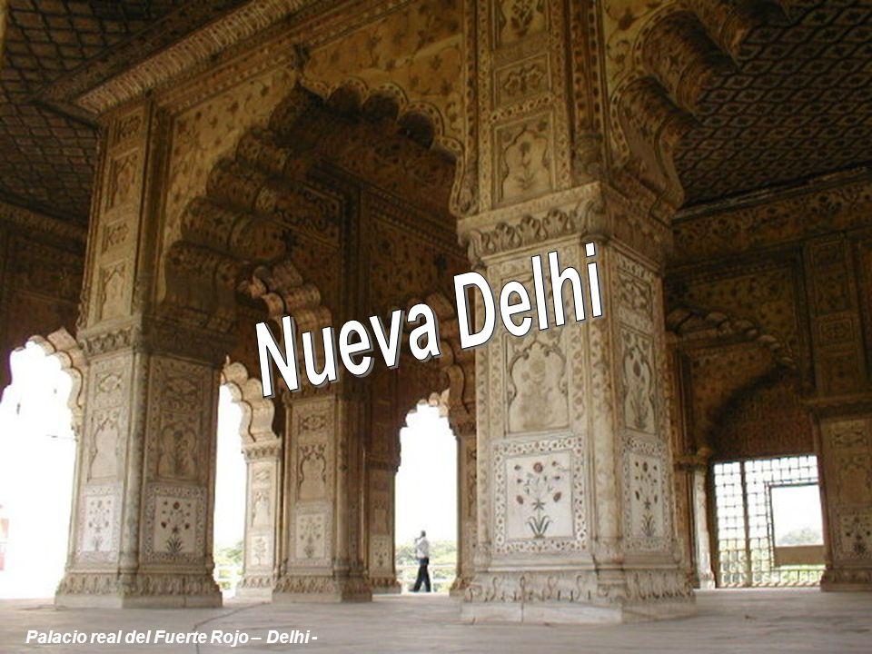 Nueva Delhi Palacio real del Fuerte Rojo – Delhi -