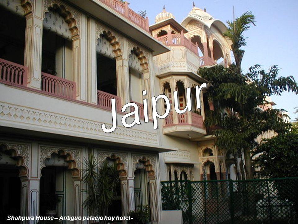 Jaipur Shahpura House – Antiguo palacio hoy hotel -