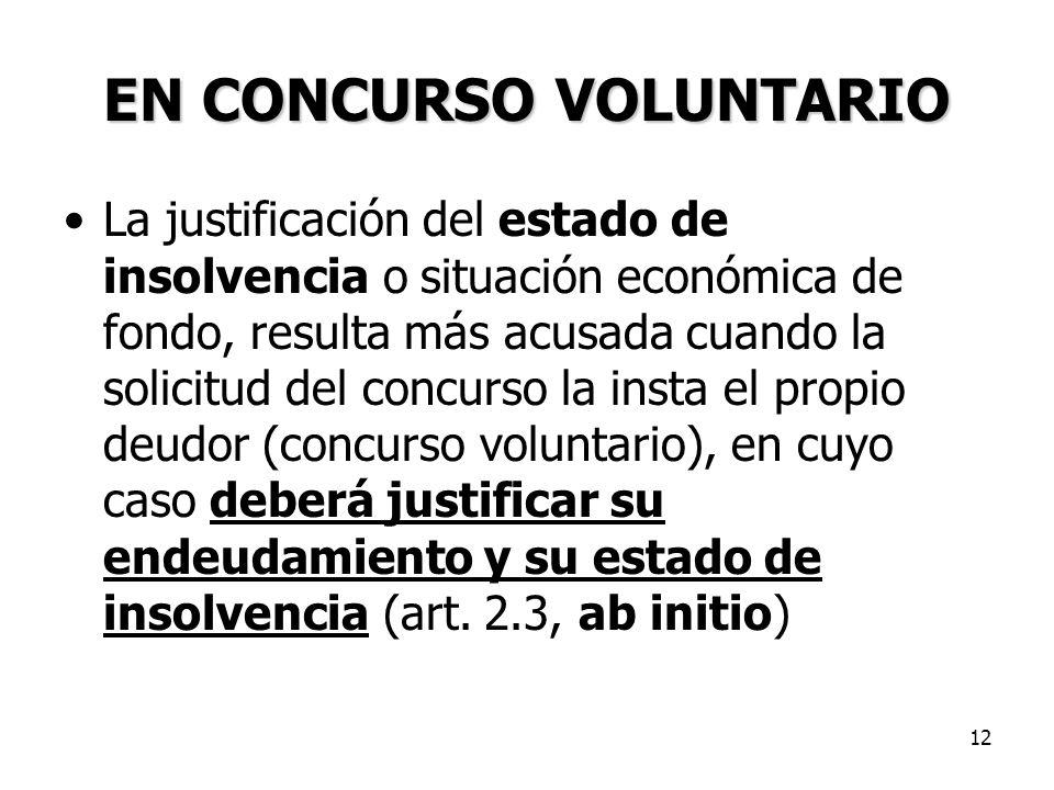 EN CONCURSO VOLUNTARIO