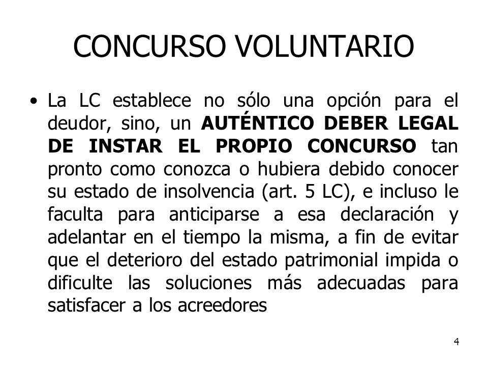 CONCURSO VOLUNTARIO