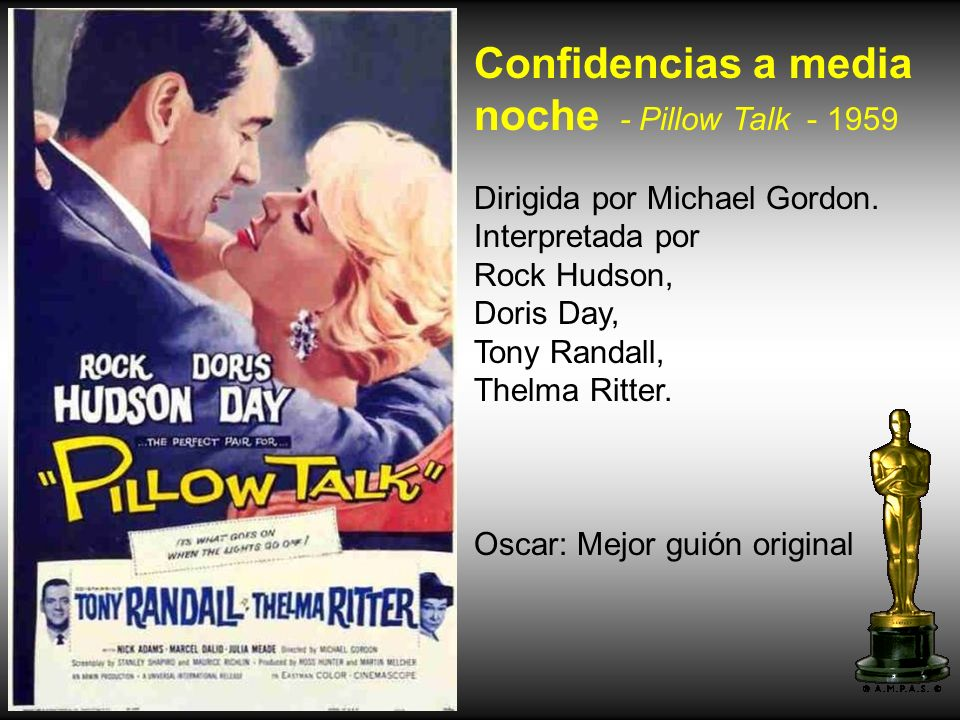 Confidencias a media noche - Pillow Talk - 1959