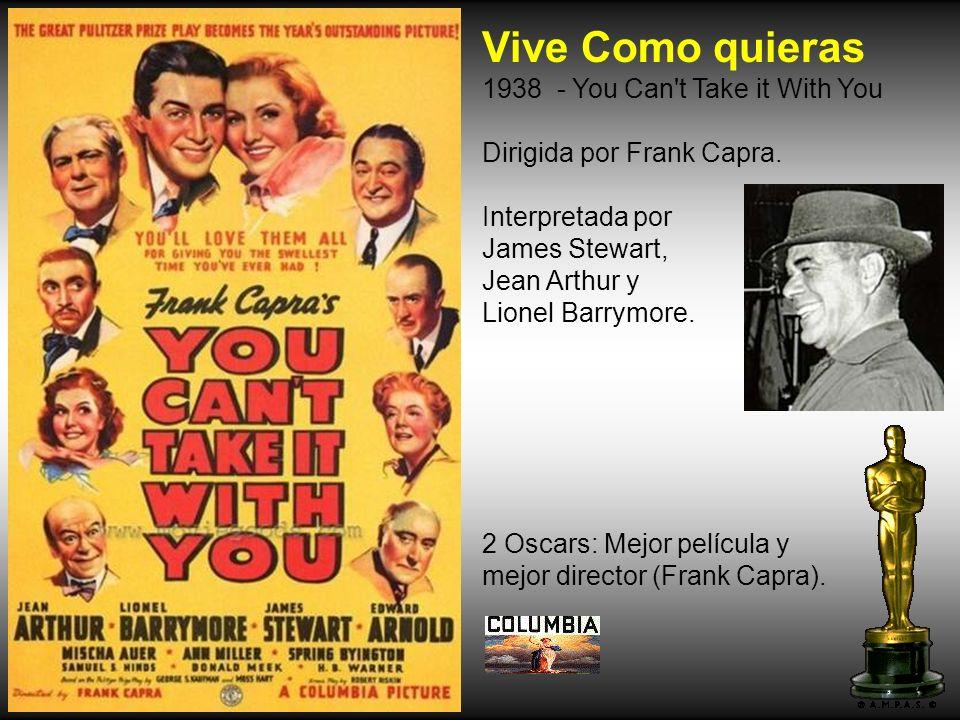 Vive Como quieras 1938 - You Can t Take it With You