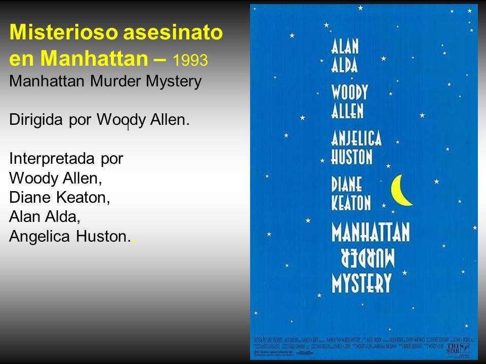 Misterioso asesinato en Manhattan – 1993