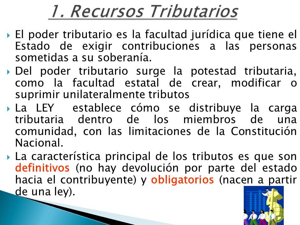 1. Recursos Tributarios