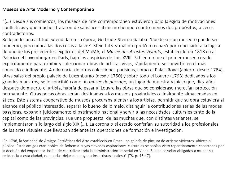 Museos de Arte Moderno y Contemporáneo (