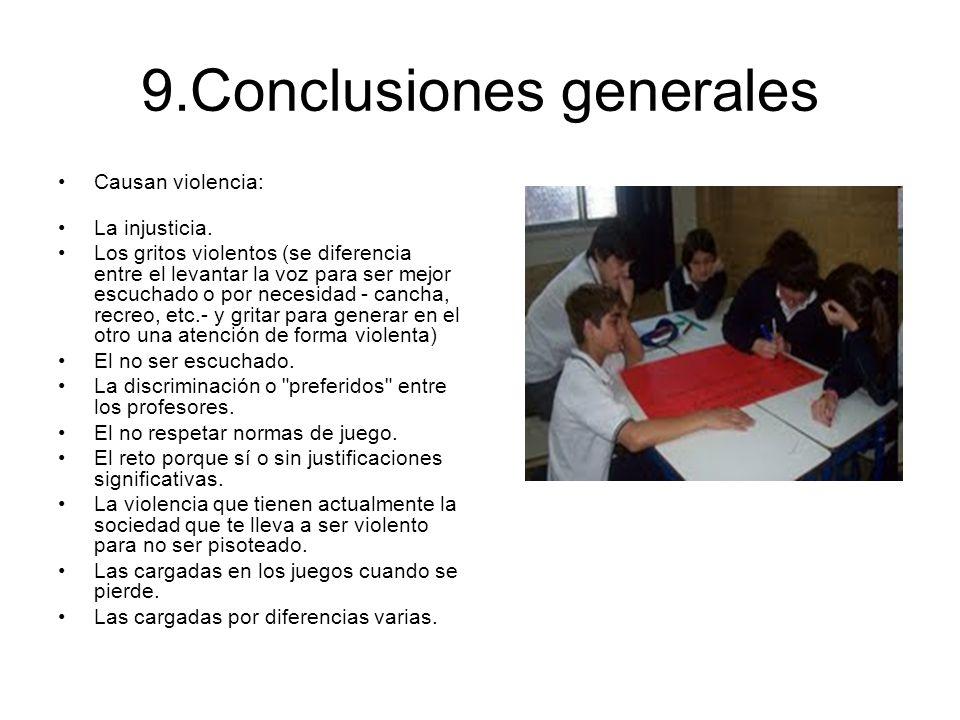 9.Conclusiones generales