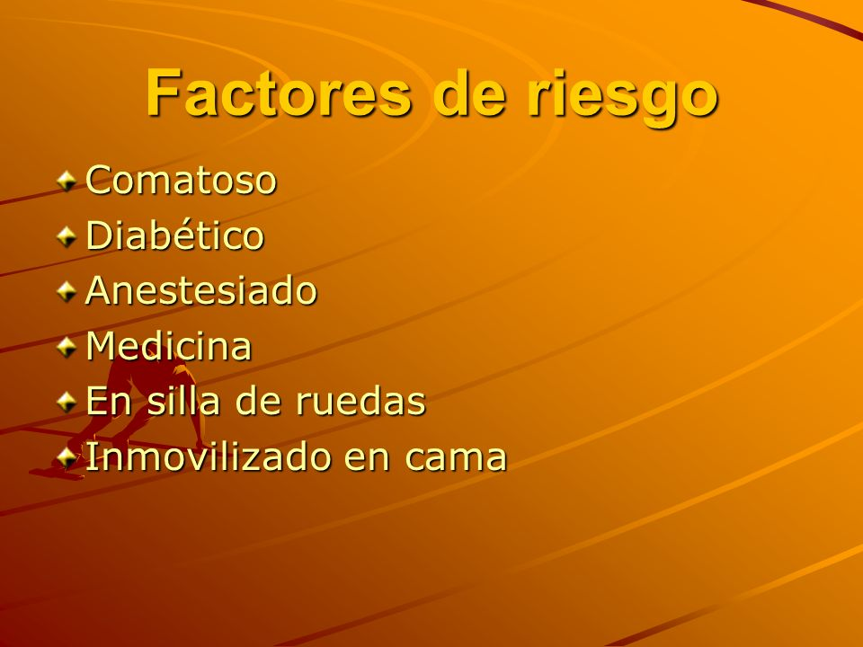 Factores de riesgo Comatoso Diabético Anestesiado Medicina