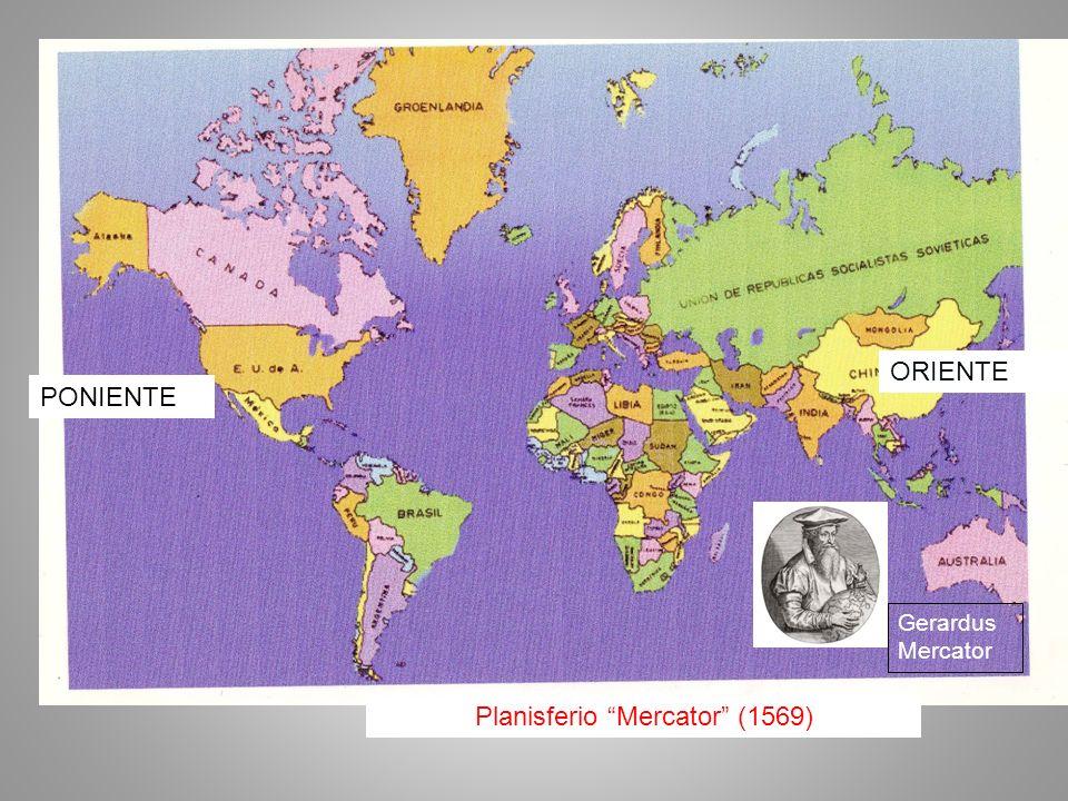 Planisferio Mercator (1569)