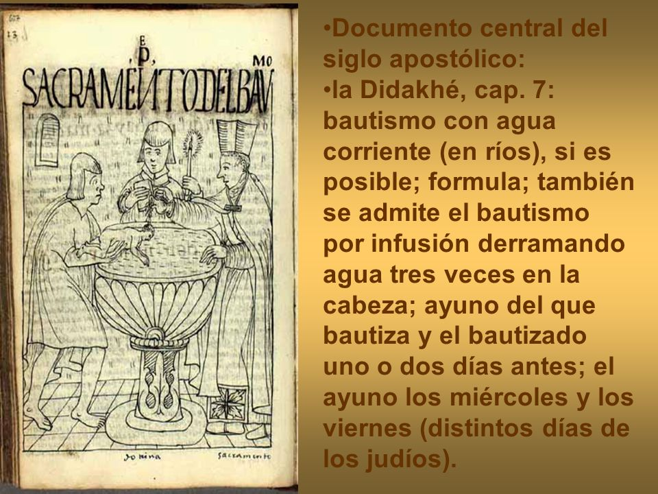 Documento central del siglo apostólico: