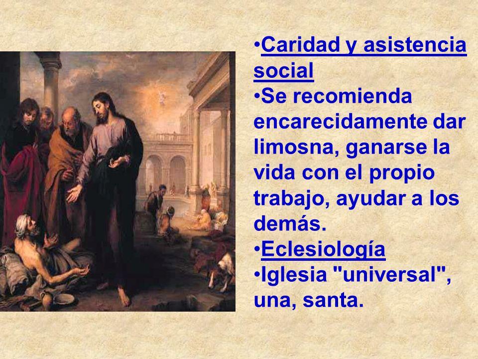 Caridad y asistencia social