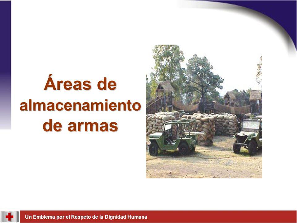 Áreas de almacenamiento de armas