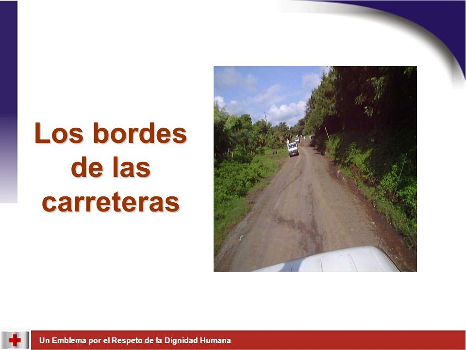 Los bordes de las carreteras