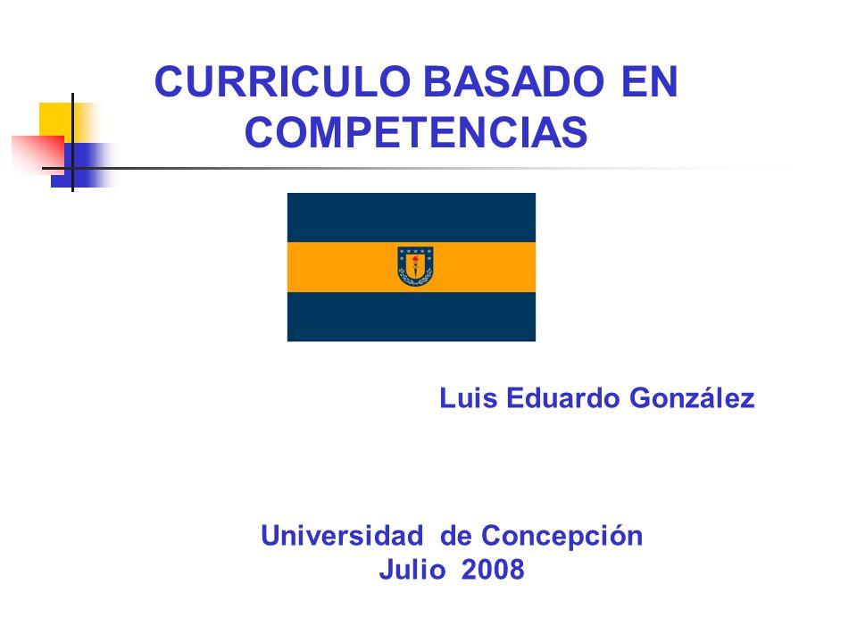 CURRICULO BASADO EN COMPETENCIAS