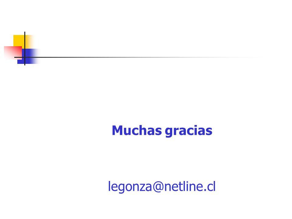 Muchas gracias legonza@netline.cl