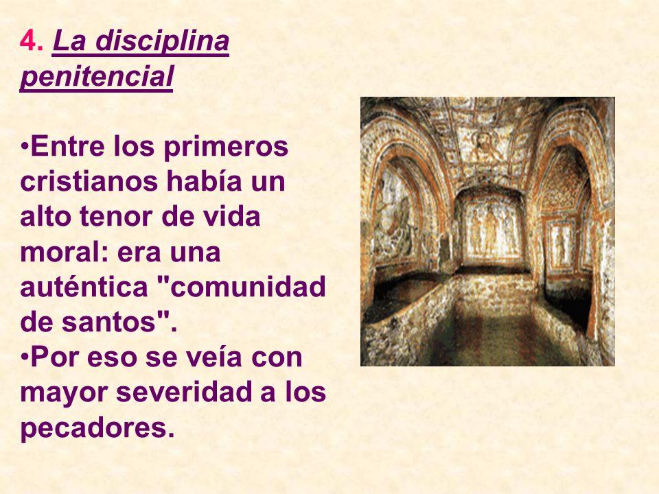 4. La disciplina penitencial