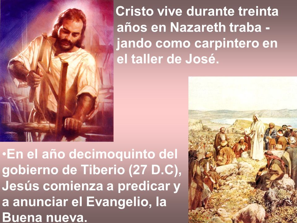Cristo vive durante treinta