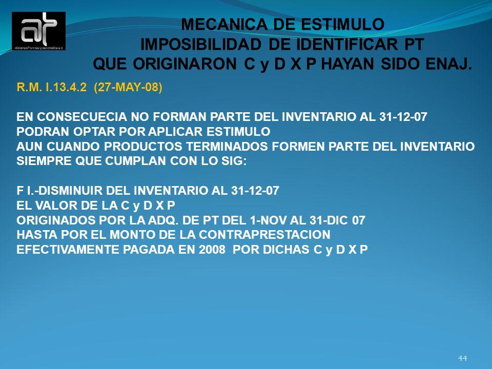 IMPOSIBILIDAD DE IDENTIFICAR PT