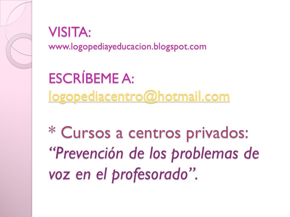 VISITA: www. logopediayeducacion. blogspot
