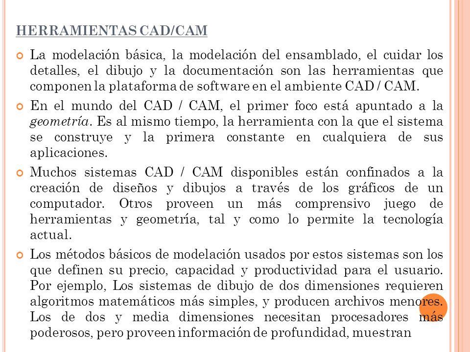 HERRAMIENTAS CAD/CAM